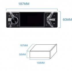 """ΗΧΟΣΥΣΤΗΜΑ ΑΥΤΟΚΙΝΗΤΟΥ 1 DIN BLUETOOTH USB SD MP4 MP5 4"""" CSTB66  OEM"""