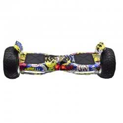 ROVER DROID HOVERBOARD BLUETOOTH HIP HOP GRAFFITY BIGBUY 8.5INCH