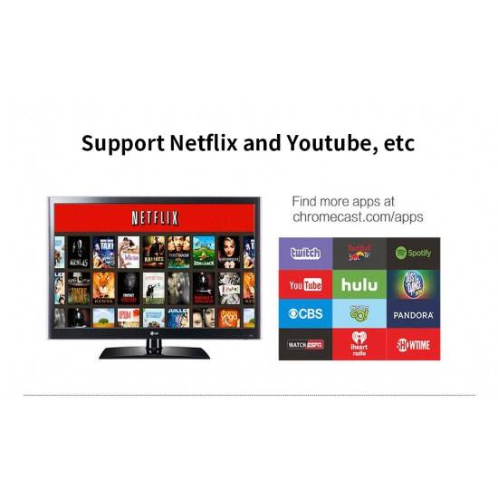 HD TV STICK WIRELESS WIFI DISPLAY RK3036 HD TV  STEAMING STICK AIRPLAY ADAPTER FOR GOOGLE CHROMECAST