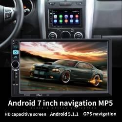 ΗΧΟΣΥΣΤΗΜΑ ΑΥΤΟΚΙΝΗΤΟΥ 2DIN ANDROID DVD CD GPS USB SD BLUETOOTH AUX REMOTE – 8702 – OEM