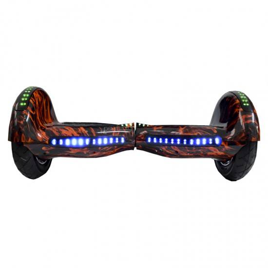SMART BALANCE HOVERBOARD WHEEL BLUETOOTH & LED ΗΛΕΚΤΡΙΚΟ ΠΑΤΙΝΙ WOOD GRAFFITI 10""