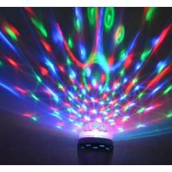 OEM ΦΩΤΟΡΥΘΜΙΚH ΛΑΜΠΑ LED ΒΙΔΩΤΗ Ε27 ΓΙΑ DISKO PARTY LED ROTATION SPOT LIGHT