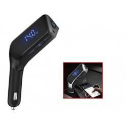 TRANSMITTER ΑΥΤΟΚΙΝΗΤΟΥ BLUETOOTH V4.2 FM USB/SD ΜΕ ΦΟΡΤΙΣΤΗ V1