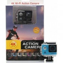 ACTION CAMERA ULTRA HD 4K WiFi WATERPROOF H9 OEM BLACK
