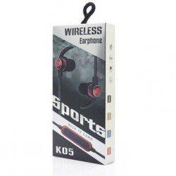 BLUETOOTH WIRELESS SPORTS EARPHONES K05