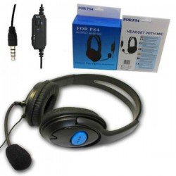 GAMER HEADSET WITH MICROPHONE FOR PS4/X – ONE PS4X-1