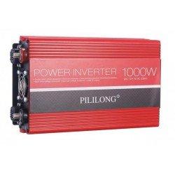 POWER INVERTER ΑΥΤΟΚΙΝΗΤΟΥ 24V ΣΕ 220V 1000W + USB PA1290