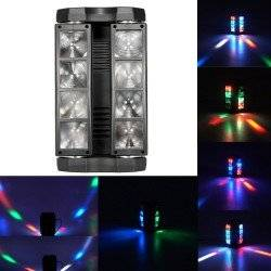 ΦΩΤΟΡΥΘΜΙΚΟ LED SPIDER BEAM 8x3W RGBW DMX512 SYY-8P3W OEM