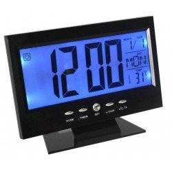 ΡΟΛΟΙ ΜΕ ΑΙΣΘΗΤΗΡΑ ΗΧΟΥ & LCD ΟΘΟΝΗ VOICE CONTROL BACK LIGHT LDC CLOCK DS-8082