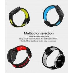SMARTWATCH ΡΟΛΟΙ ACTIVITY TRACKER CF007 V9 OEM RED
