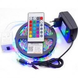 ΑΔΙΑΒΡΟΧΗ ΤΑΙΝΙΑ LED 5 ΜΕΤΡΩΝ RGB 5050 SMD HIGH POWER 12V ΜΕ ΤΗΛΕΧΕΙΡΙΣΤΗΡΙΟ OEM
