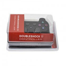 OEM ΧΕΙΡΙΣΤΗΡΙΟ ΕΝΣΥΡΜΑΤΟ CONTROLLER DOUBLESHOCK ΙΙΙ BLACK FOR PS3
