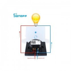 SONOFF TOUCH WIFI WALL SWITCH WIRELESS TOUCH LED LIGHT CONTROLLER SMART HOME