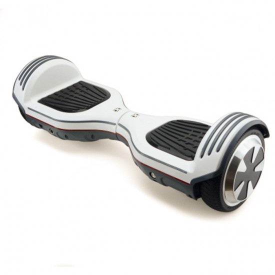 SMART BALANCE HOVERBOARD WHEEL WITH BLUETOOTH & LED ΗΛΕΚΤΡΙΚΟ ΠΑΤΙΝΙ WHITE NEW P5 LIMITED EDITION 6.5''