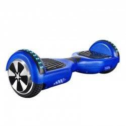 HOVERBOARD TRANSFORMERS WHEEL WITH BLUETOOTH & LED ΗΛΕΚΤΡΙΚΟ ΠΑΤΙΝΙ ΙΣΟΡΡΟΠΙΑΣ BLUE HB-40 6.5""