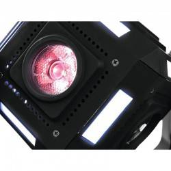 SPL-LED-623 ACTION CUBE RGBW ΚΙΝΟΥΜΕΝΗ ΚΕΦΑΛΗ ΦΩΤΟΡΥΘΜΙΚΟ OEM