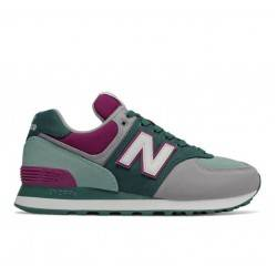 NEW BALANCE WL574INC LIFESTYLE DARK GREEN