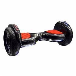 SMART BALANCE HOVERBOARD BIG WHEEL BLUETOOTH & LED ΗΛΕΚΤΡΙΚΟ ΠΑΤΙΝΙ 10.5'' BLACK RED HANDLE