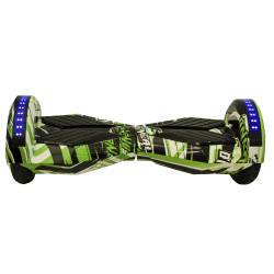 SMART BALANCE HOVERBOARD WHEEL WITH BLUETOOTH & LED ΗΛΕΚΤΡΙΚΟ ΠΑΤΙΝΙ GREEN ART M-S70 8''
