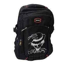 ΣΧΟΛΙΚΗ ΤΣΑΝΤΑ BACKPACK ONE PIECE LUFFY BLACK OEM BG134