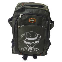 ΣΧΟΛΙΚΗ ΤΣΑΝΤΑ BACKPACK ONE PIECE LUFFY KHAKI OEM BG131