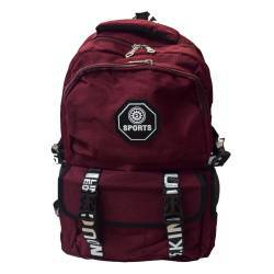 ΣΧΟΛΙΚΗ ΤΣΑΝΤΑ BACKPACK SPORT DARK RED OEM BG136