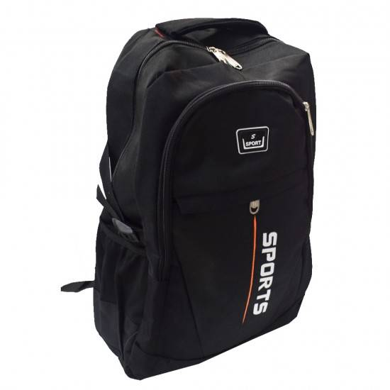 ΣΧΟΛΙΚΗ ΤΣΑΝΤΑ BACKPACK SPORT BLACK OEM BG137 2985954e30e