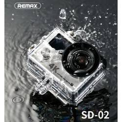 REMAX SD 02 MINI 4K ACTION CAMERA WATERPROOF