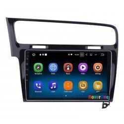 """ΗΧΟΣΥΣΤΗΜΑ ME LCD ΟΘΟΝΗ 10.2"""" BLUETOOTH WIFI/FM/AM/RADIO GPS ANDROID 7.1 FOR VW Golf 7 MK7 VII 2013 2014 2015"""