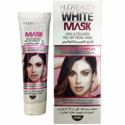 HUDA WHITE MASK DEEP CLEANSING PEEL-OFF BLACKHEAD REMOVER ACNE OIL SKIN PORES - ΜΑΣΚΑ ΓΙΑ ΚΑΘΑΡΙΣΜΟ ΠΡΟΣΩΠΟΥ OEM