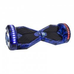"SMART BALANCE HOVERBOARD TRANSFORMERS BLUETOOTH & LED ΗΛΕΚΤΡΙΚΟ ΠΑΤΙΝΙ BLUE FLAMES 8"" SPECIAL EDITION"