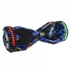 "SMART BALANCE HOVERBOARD TRANSFORMERS BLUETOOTH & LED ΗΛΕΚΤΡΙΚΟ ΠΑΤΙΝΙ BLUE GOLD 8"" HB48"
