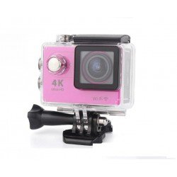 ACTION CAMERA ULTRA HD 4K WiFi WATERPROOF H9 OEM PINK
