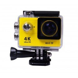 ACTION CAMERA ULTRA HD 4K WiFi WATERPROOF H9 OEM YELLOW