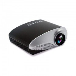 MINI LED PROJECTOR HOME MULTIMEDIA CINEMA SUPPORT AV/TV/VGA/USB/HDMI/SD BLACK RD-802