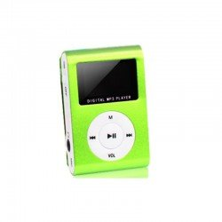 SETTY PORTABLE MP3 MINI GREEN OEM 1023