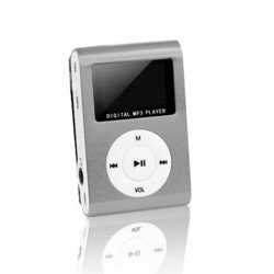 SETTY PORTABLE MP3 MINI SILVER OEM 1023