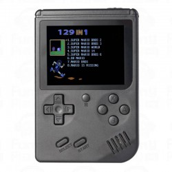 RETRO MINI HANDHELD GAME CONSOLE RS-6A BLACK 2,4 TFT