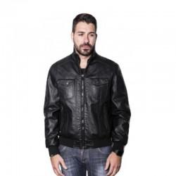 BISTON  JACKET ΔΕΡΜΑΤΙΝΟ BLACK 40-201-006