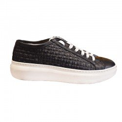 VITELLO SNEAKERS BLACK MZ15