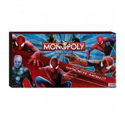 MONOPOLY THE AMAZING SPIDERMAN 2 GLOBAL VILLAGE ΣΤΑ ΑΓΓΛΙΚΑ MONOPOLY-01