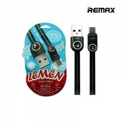 REMAX 2.1A LEMEN USB DATA CABLE 1M FOR MICRO USB BLACK RC-101B