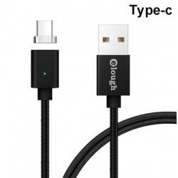 ELOUGH MAGNETIC TYPE-C CABLE 1M SILVER E04