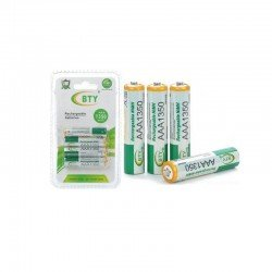BTY 1350MAH NIMH AAA Rechargeable Battery ΒΤΥ-1350