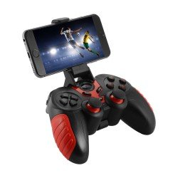 BLUETOOTH GAMEPAD 7 IN 1 ΓΙΑ ΛΟΓΙΣΜΙΚΑ P1-P2-P3-ANDROID RED OEM