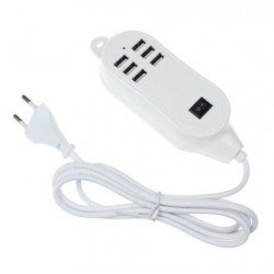 USB HUB ΜΕ 6 ΥΠΟΔΟΧΕΣ USBPORT6