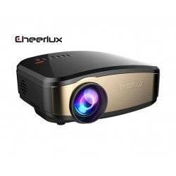 CHEERLUX C6 WIRELESS ΑΣΥΡΜΑΤΟΣ ΦΟΡΗΤΟΣ MINI LCD LED PROJECTOR 1080p HD 800x480 1200 LUMENS HDMI/USB