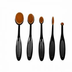 OVAL BRUSH ΣΕΤ ΠΙΝΕΛΑ ΜΑΚΙΓΙΑΖ 6 ΤΕΜΑΧΙΩΝ