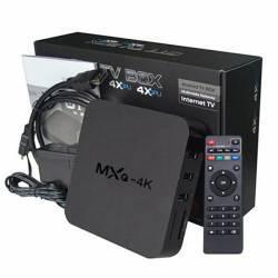 ANDROID 4.4 TV BOX 1GB RAM / 8GB ΜΝΗΜΗ 4K QUAD CORE WIFI KODI ΑΠΟ TV ΣΕ SMART TV OEM