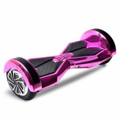 SMART BALANCE HOVERBOARD WHEEL WITH BLUETOOTH & LED ΗΛΕΚΤΡΙΚΟ ΠΑΤΙΝΙ METALLIC PINK 8""